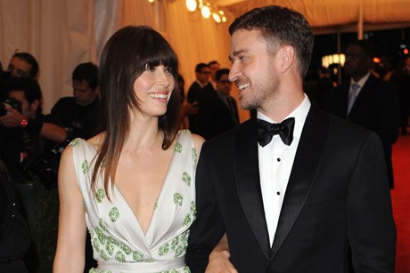 Jessica Biel and Justin Timberlake earlier this year (AAP)