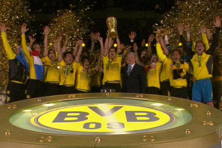 Borussia Dortmund 5:2 Bayern Munich resume, HIGHLIGHTS goals, buts, resume 12/05/2012