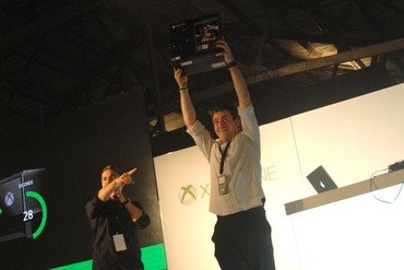 New Zealand's first Xbox One customer Dan Livingstone