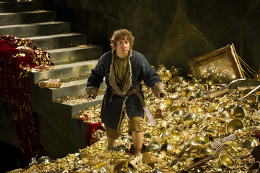 Martin Freeman as Bilbo Baggins in the new Hobbit film (Supplied)