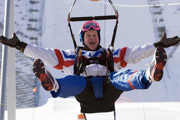 Eddie 'The Eagle' Edwards (Reuters)