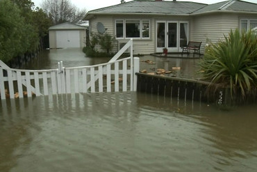 Homes are flooded and there have been many slips and road closures
