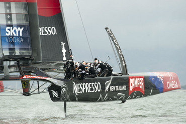 Team NZ on day eleven of America's Cup