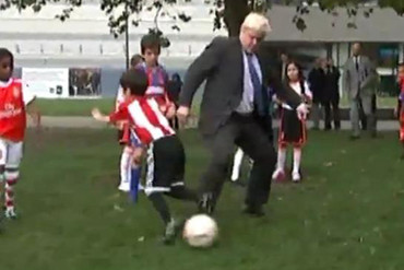Boris Johnson tackle