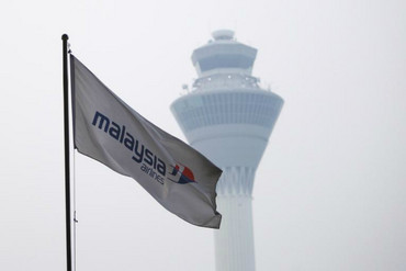 The Malaysian Airlines Boeing 777 disappeared without trace en route to Beijing yesterday morning. (Reuters image)