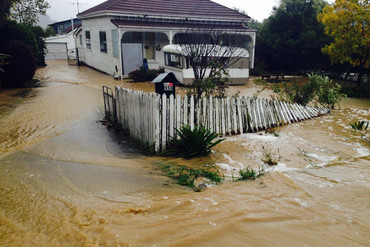 The flooding in Christchuch continues (RadioLIVE/Shelley Nahr)