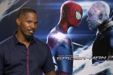 The Amazing Spider-Man 2: Rise of Electro star Jamie Foxx