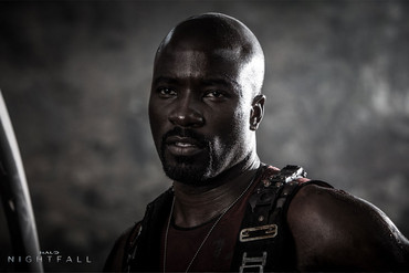 Mike Colter as Locke in Halo: Nightfall