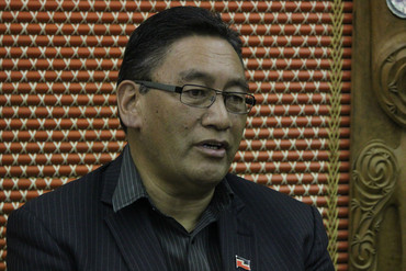 Mana Party leader Hone Harawira (Simon Wong)