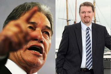 Winston Peters (L) and Colin Craig (Getty)