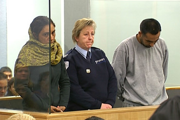 Amandeep Kaur, 31, and her co-accused Gurjinder Singh, 28 (3 News)