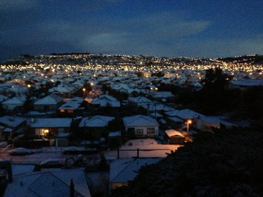 Dunedin seen from the hill suburbs (strategyfirstpr/twitter)