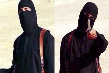 "The masked militant known as ""Jihadi John"" (AAP)"